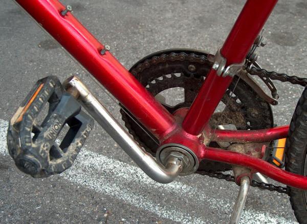 Identifizieren Sie mein altes Fahrrad