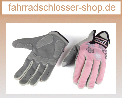 XLC Langfingerhandschuh Ariane - Lady Grau/pink