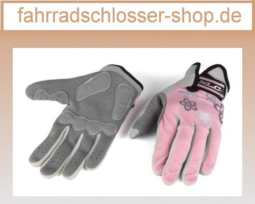 XLC Langfingerhandschuh Ariane - Lady Grau/pink